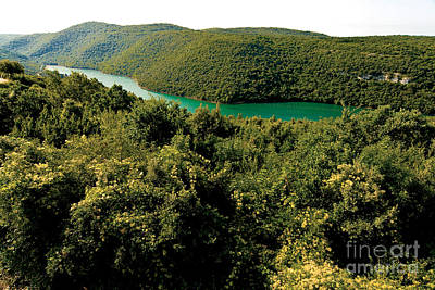 Johann Baptist Hofner Photograph - Croatia River by Boon Mee