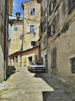 Old Town Digital Art - Croatia Rovinj View 6 by Yury Malkov