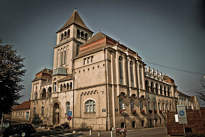 Photograph - Croatian National Hall Building Krizevci Croatia by Brch Photography