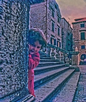 Photograph - Croatian Peek A Boo by Don Wolf