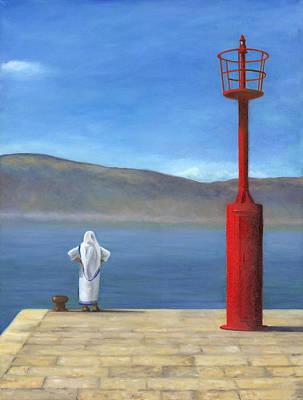 Mother Teresa Painting - Croatian Retreat by Joe Maracic