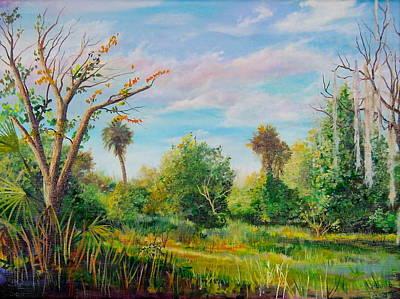 Painting - Crocket Road by AnnaJo Vahle