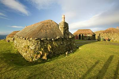 Ways Of Life Photograph - Crofting Museum At Peingown by Ashley Cooper