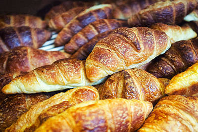 Croissants  Art Print by Tanya Harrison