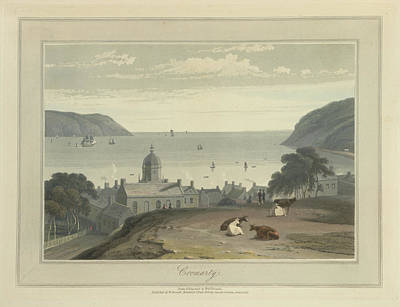 Cromarty Town And Harbour Art Print by British Library