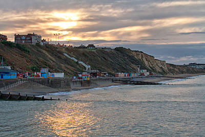 Photograph - Cromer Sunset by Shirley Mitchell