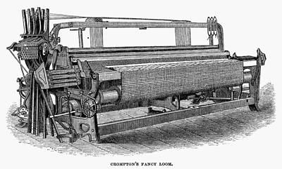 Painting - Crompton Fancy Loom by Granger