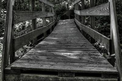 Photograph - Crooked Bridge by Michael Colgate