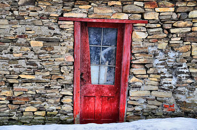 Photograph - Crooked Red by Emily Stauring