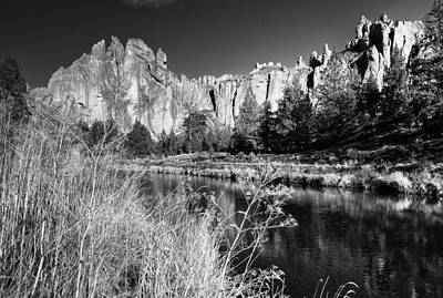 Photograph - Crooked River At Smith Rock by Coby Cooper