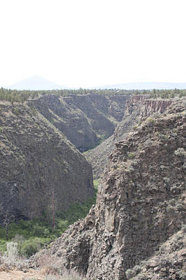 Photograph - Crooked River Gorge - 0001 by S and S Photo