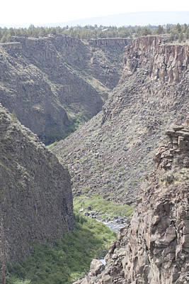 Photograph - Crooked River Gorge - 0003 by S and S Photo