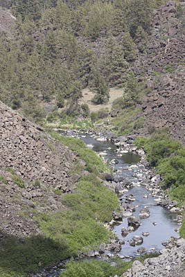 Photograph - Crooked River Gorge - 0006 by S and S Photo