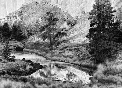 Photograph - Crooked River Reflections by Coby Cooper