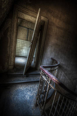 Digital Art - Crooked Stairs by Nathan Wright