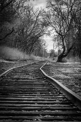 Photograph - Crooked Tracks by Alexey Stiop