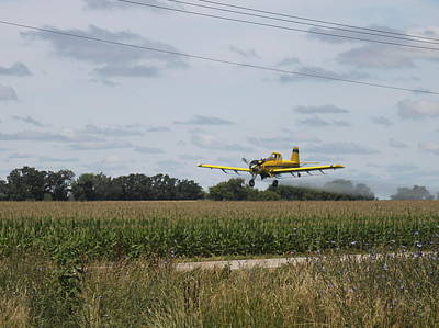 Photograph - Crop Dusting 2 by Victoria Sheldon