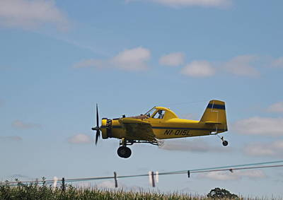 Photograph - Crop Dusting by Victoria Sheldon