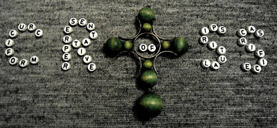 Olympic Sports - Cross 2 by Lovina Wright
