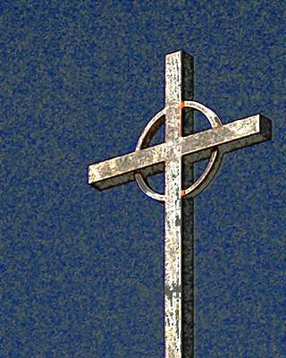 Photograph - Cross 8059 by Jerry Sodorff