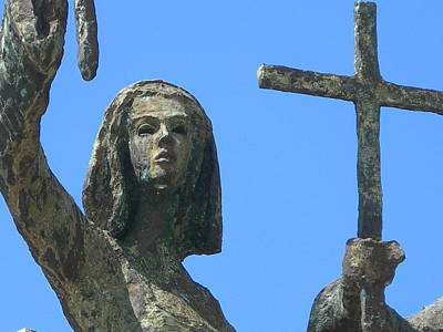 Rogativa Photograph - Cross Against The Sky by Loretta Cassiano