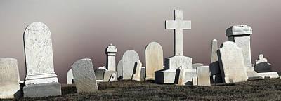 Cross And Gravestones Baltimore Maryland Original by John Hanou