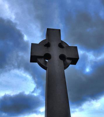 David Jones Photograph - Cross And Sky by David  Jones