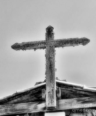 Photograph - Cross At Mission Soledad By Diana Sainz by Diana Raquel Sainz