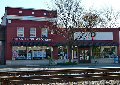 Photograph - Cross Brothers Grocery by Jean Wright