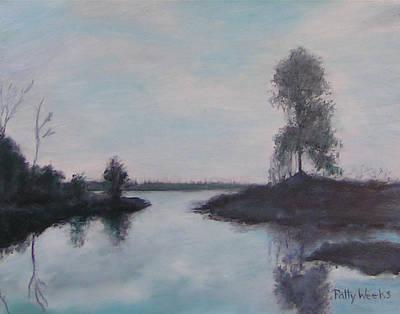 Rawlings Painting - Cross Creek In Florida by Patty Weeks