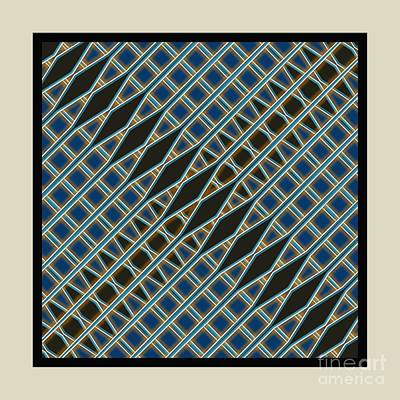 Digital Art - Cross Cut- No3 by Darla Wood