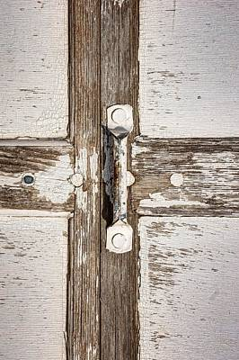 Cross - Door Handle Art Print by Nikolyn McDonald