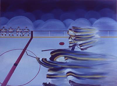 Cross Ice Pass Art Print by Ken Yackel