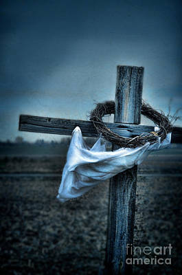Photograph - Cross In A Field by Jill Battaglia
