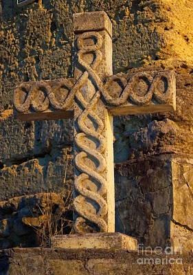 Photograph - Cross In Santiago by Rachel Munoz Striggow