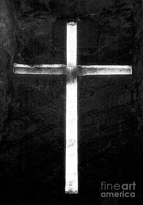 Photograph - Cross In The Mine by John Rizzuto