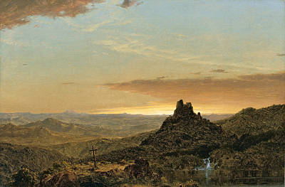 Painting - Cross In The Wilderness by Frederic Edwin Church