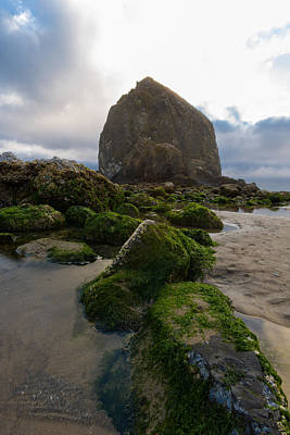 Cross Of Cannon Beach Art Print by Scott Campbell