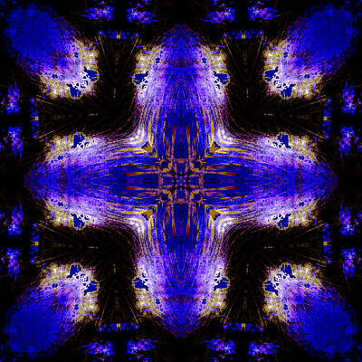 Religious Art Digital Art - Cross Of Diety by David G Paul