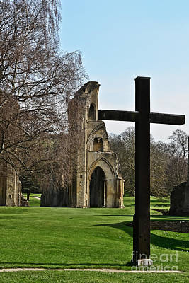 Photograph - Cross Of Glastonbury Abbey by Elvis Vaughn