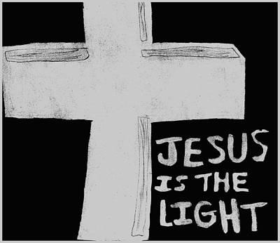 Cross Of Light Art Print by Shaunna Juuti