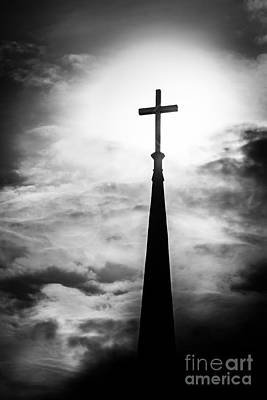 Photograph - Cross Of The Son by Michael Arend