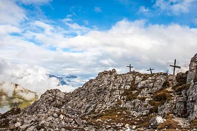 Borat Photograph - Cross Pass by Luke Herro
