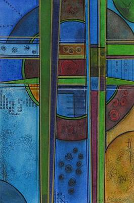 Painting - Cross Roads by Nicole Nadeau