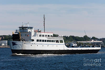 Photograph - Cross Sound Ferry New London I by Clarence Holmes
