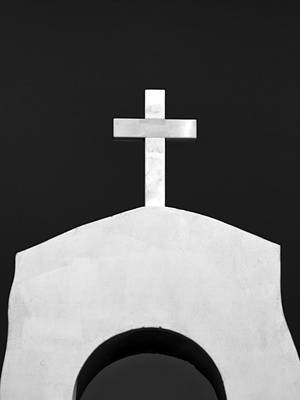 Old Christ Church Photograph - Cross by Stelios Kleanthous