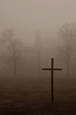 Photograph - Cross The Fog by Robin Mahboeb