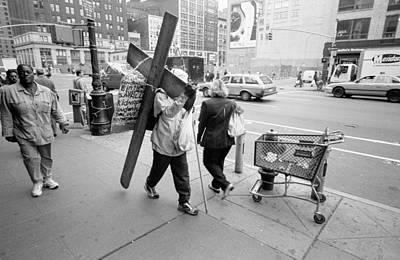 Photograph - Cross To Bear by Dave Beckerman