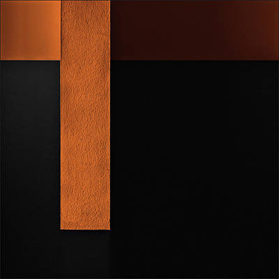 Minimalism Photograph - Cross Wall by Gilbert Claes