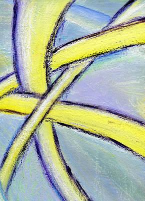 Crossed Paths 1 Art Print by Karyn Robinson